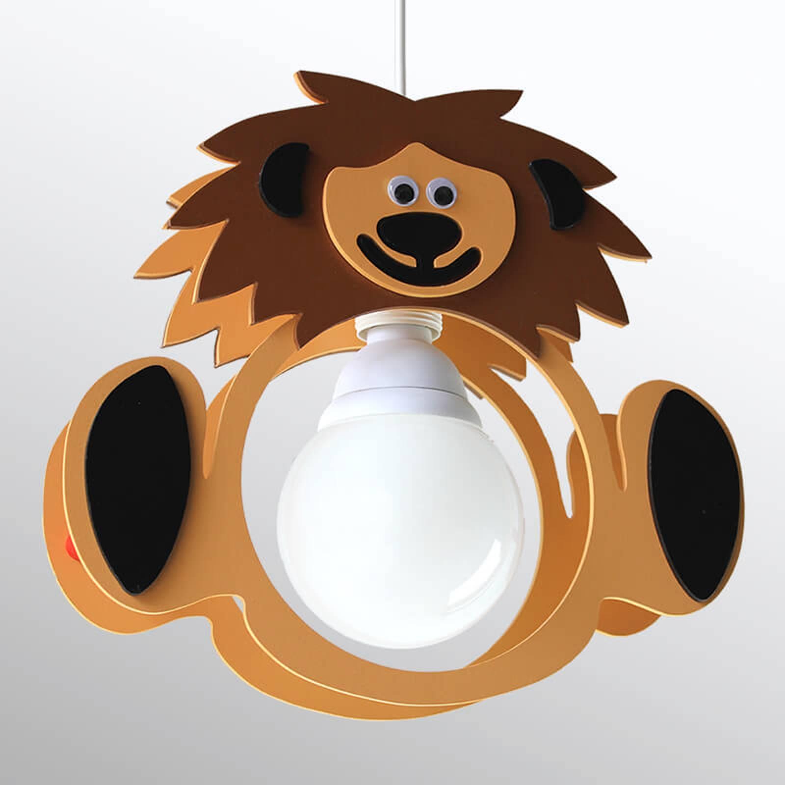 Kinderkamer hanglamp Leeuw Leo