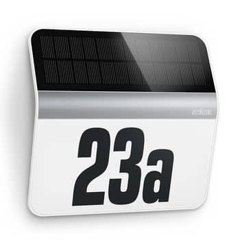 Oświetlenie numeru domu LED XSolar LH-N, stal szl.