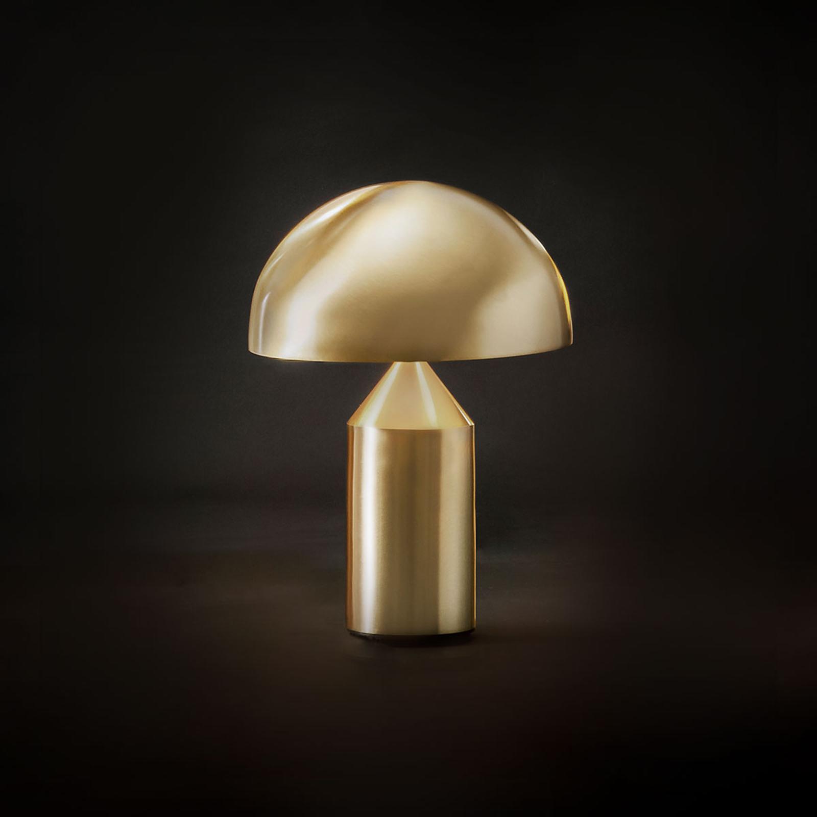 Oluce Atollo - tafellamp in goud, 35 cm