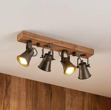 Lindby Grandesa faretto soffitto, 4 luci
