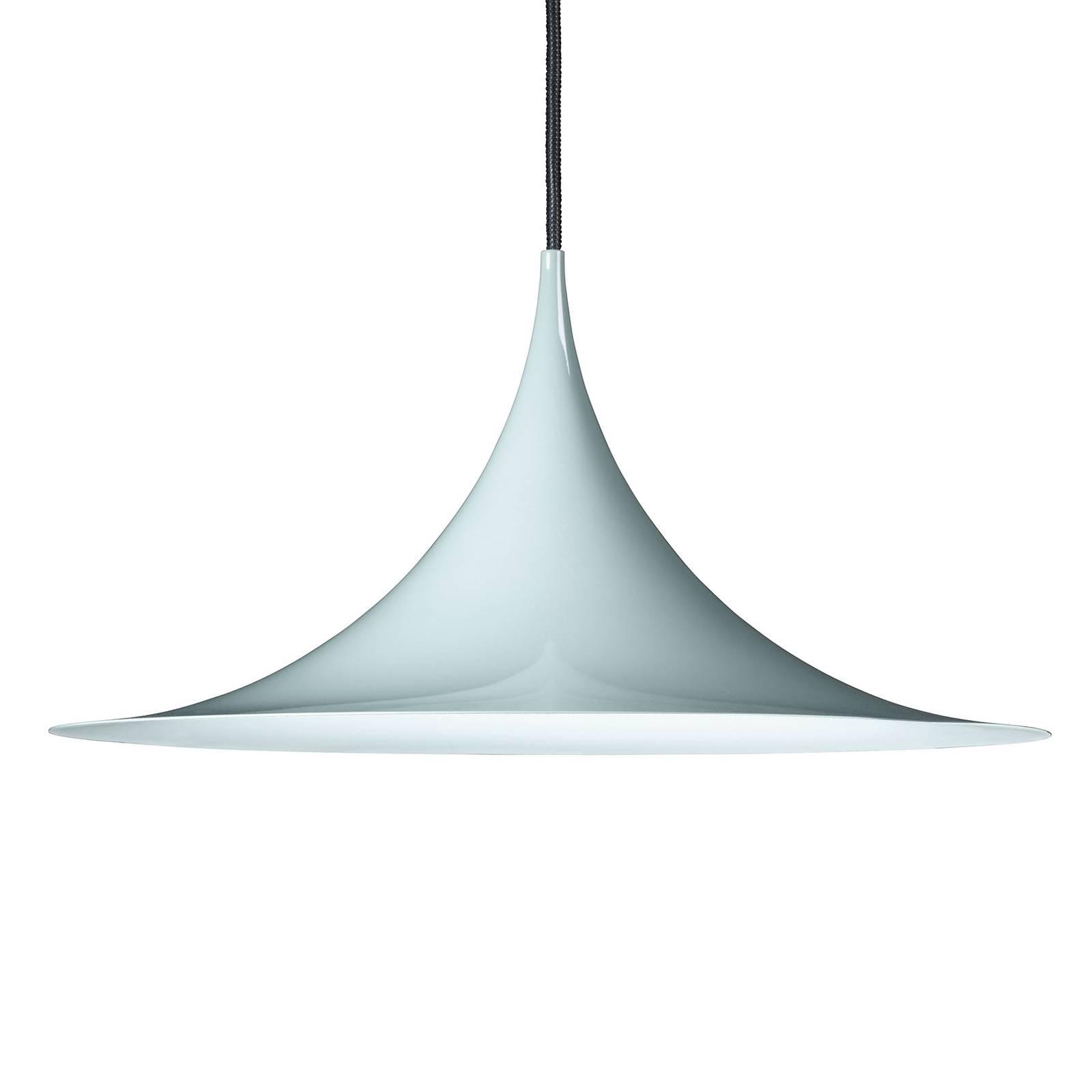Billede af GUBI Semi hængelampe Ø 47 cm, blank blå
