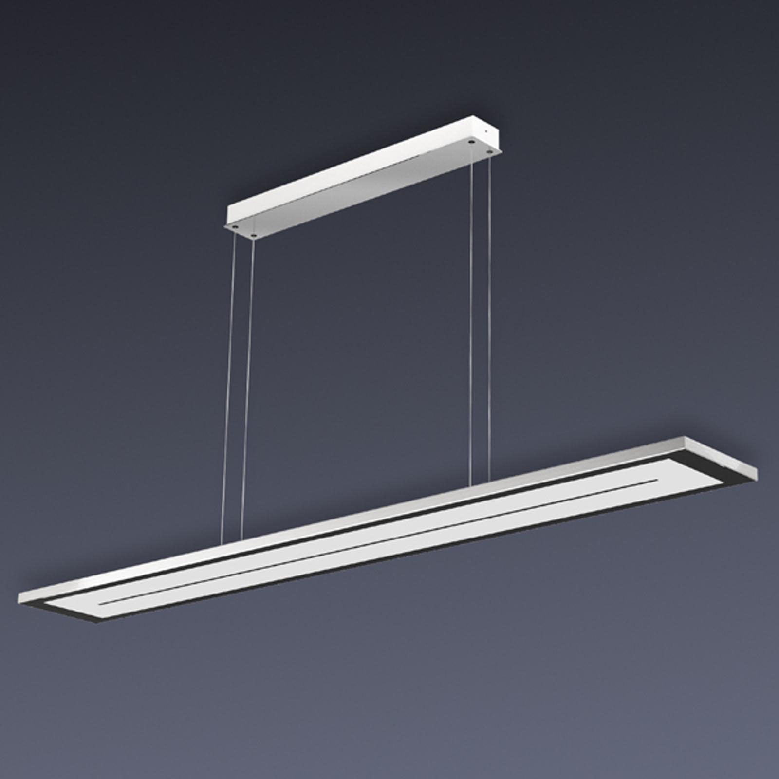 Ściemniana lampa wisząca LED ZEN, dł. 108 cm