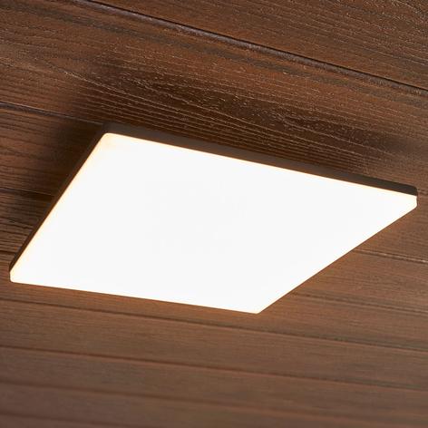 Plafoniera quadrata da esterni LED Henni