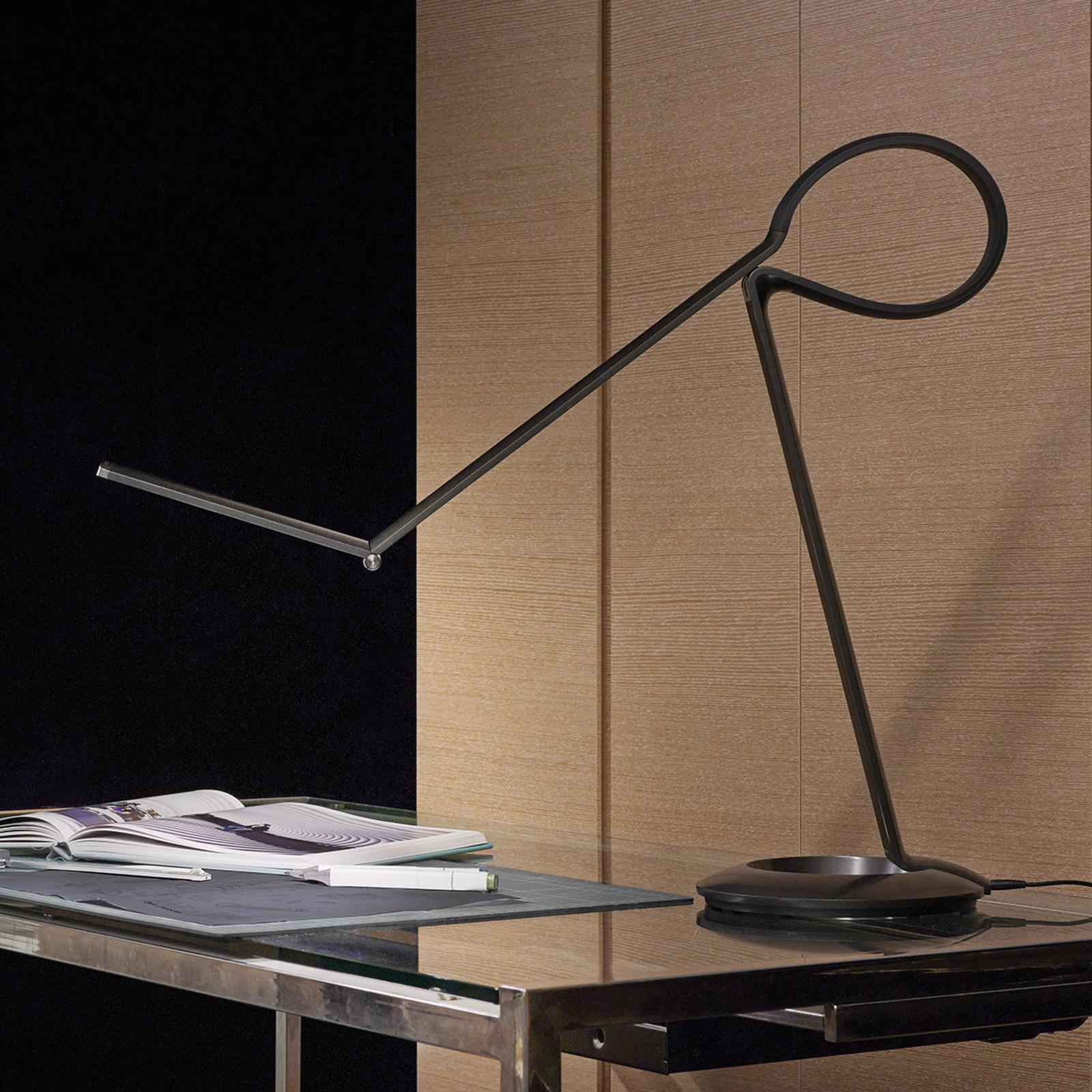 Veelzijdige LED design-tafellamp Compasso
