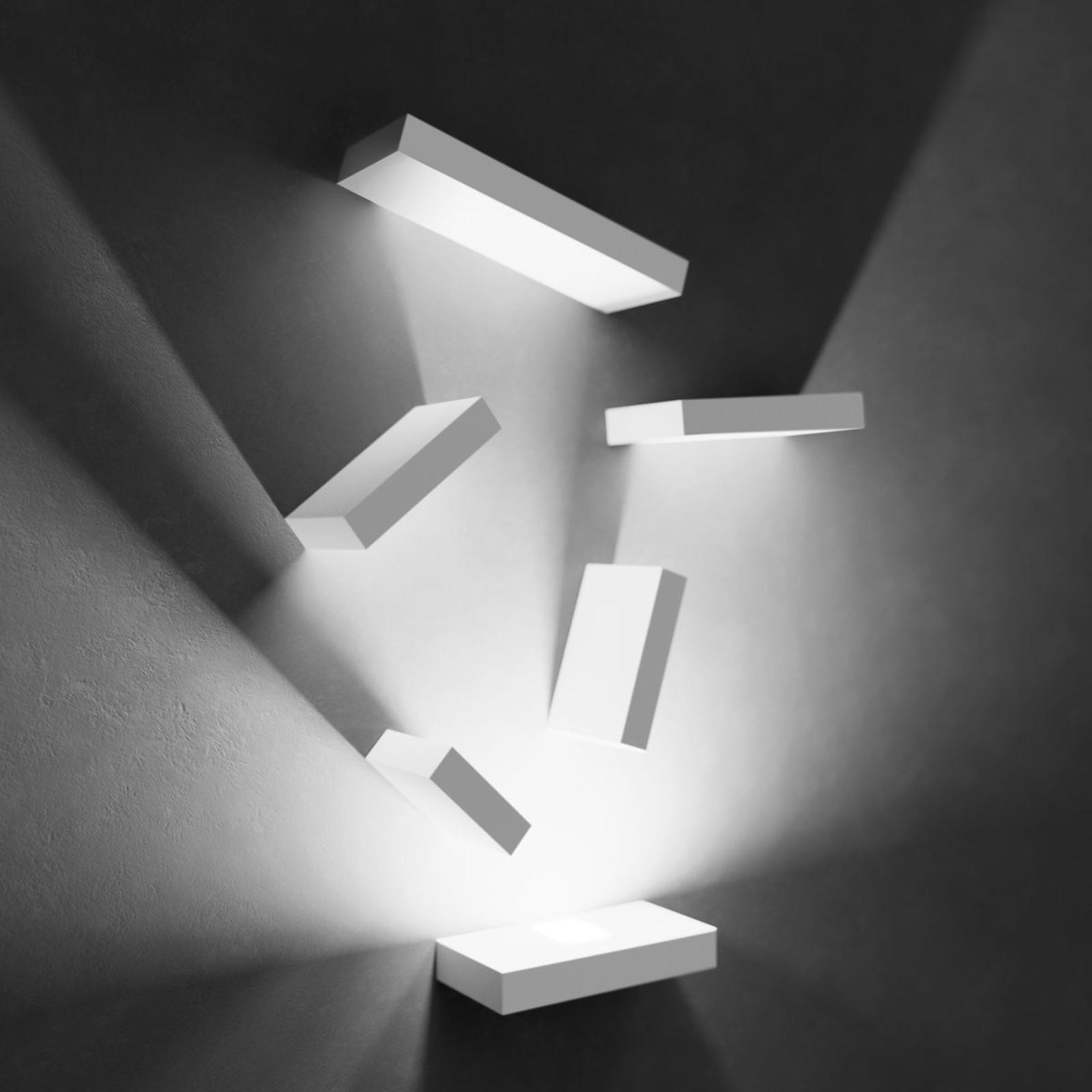 Set fascinerende LED vegglampe
