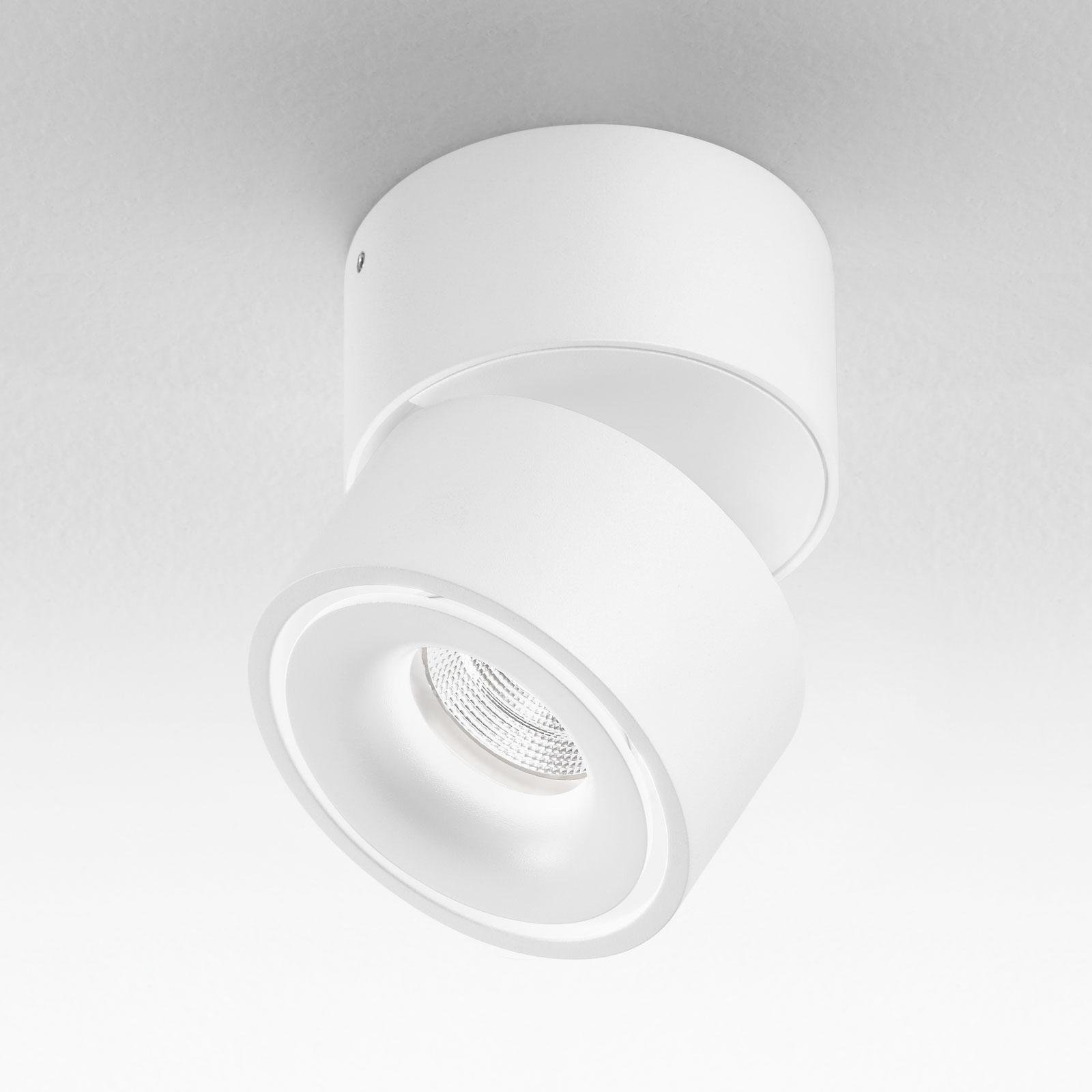 Egger Clippo LED-Deckenspot, weiß, 3.000K