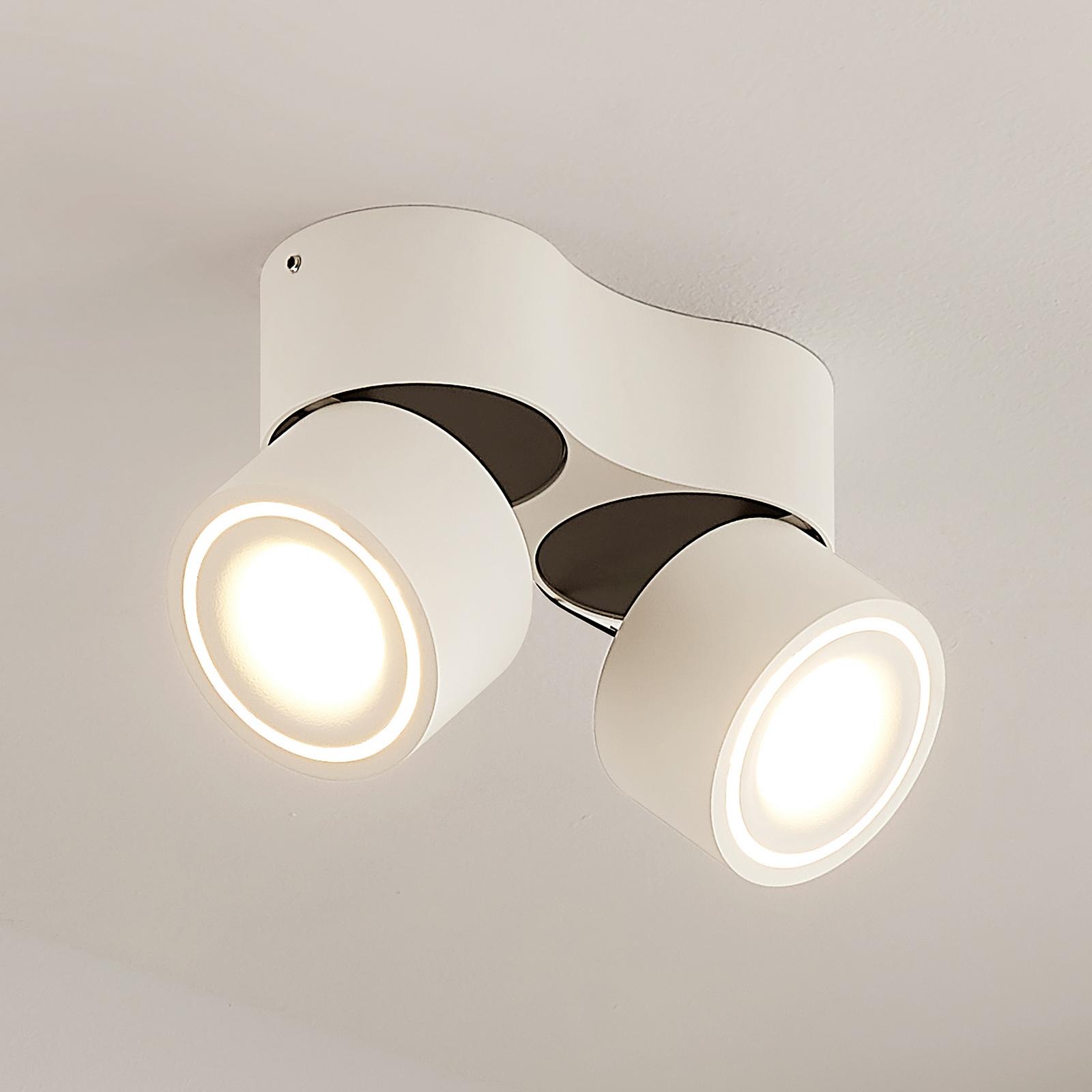 Arcchio Rotari LED-takspot, 2 lyskilder, 2x6,1W