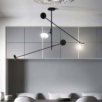 Grok Invisible suspension LED à 3 lampes 2700K