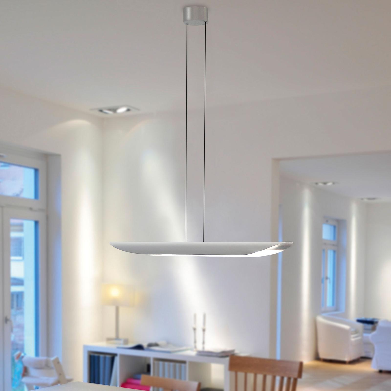 BANKAMP Open Mind LED-Hängeleuchte blattsilber
