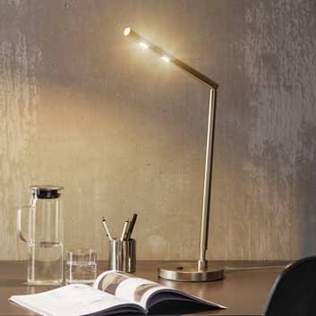 Ponadczasowa lampka biurkowa LED Glance