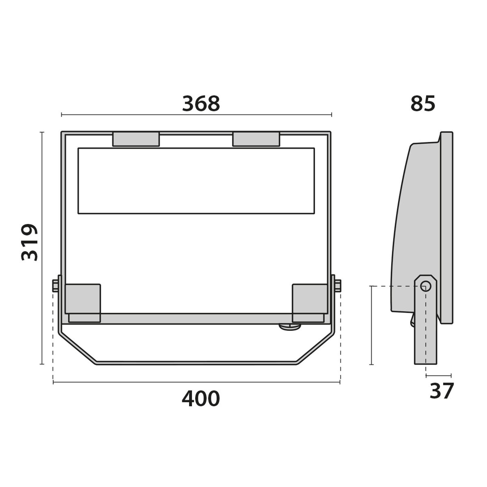 Guell 2 C/I - LED-Strahler f. innen und außen 78W