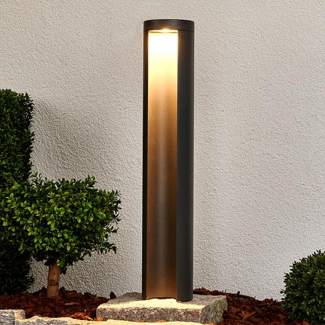 Koksgrå LED-gatelampe Jaron