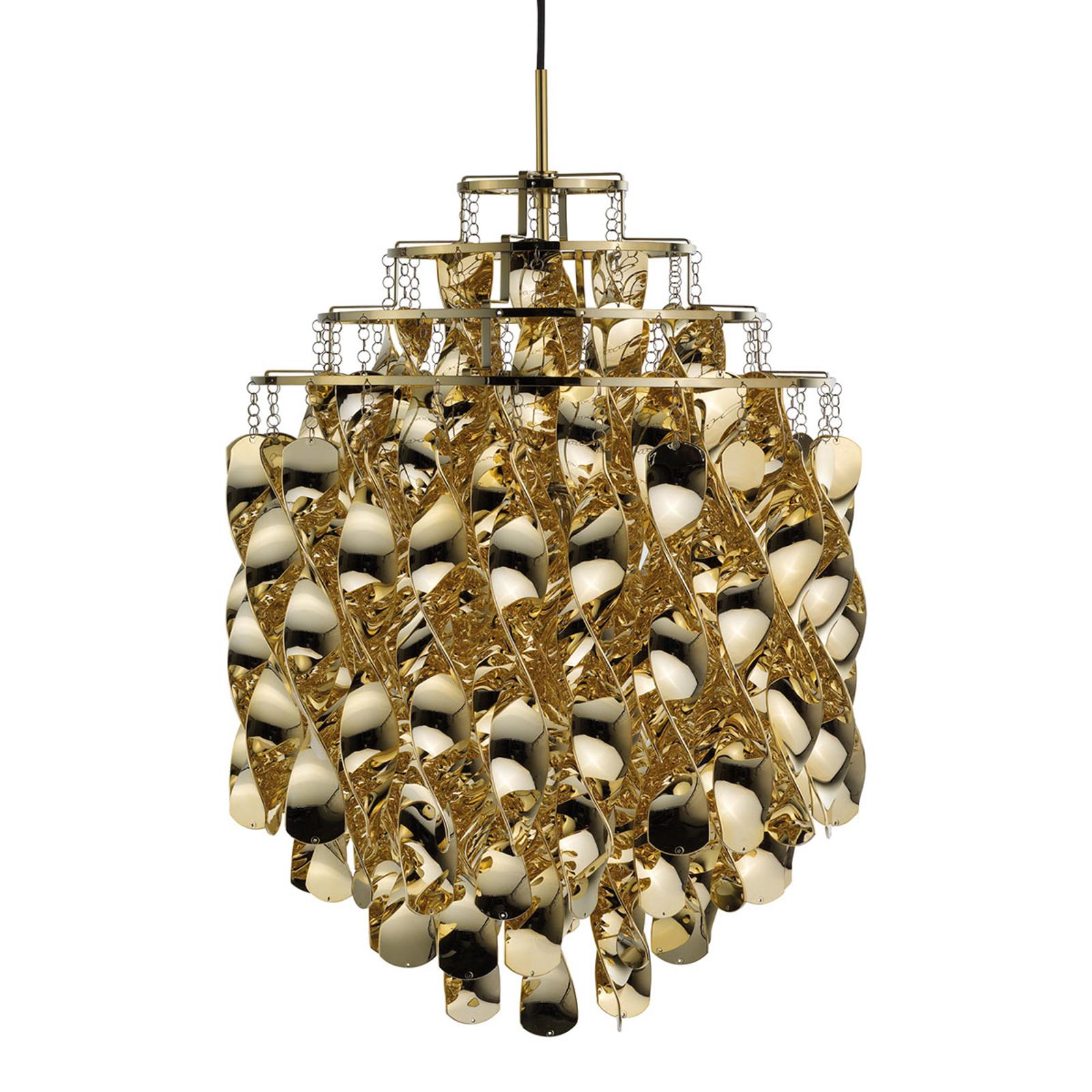 VERPAN Spiral SP01 - lampa wisząca złota