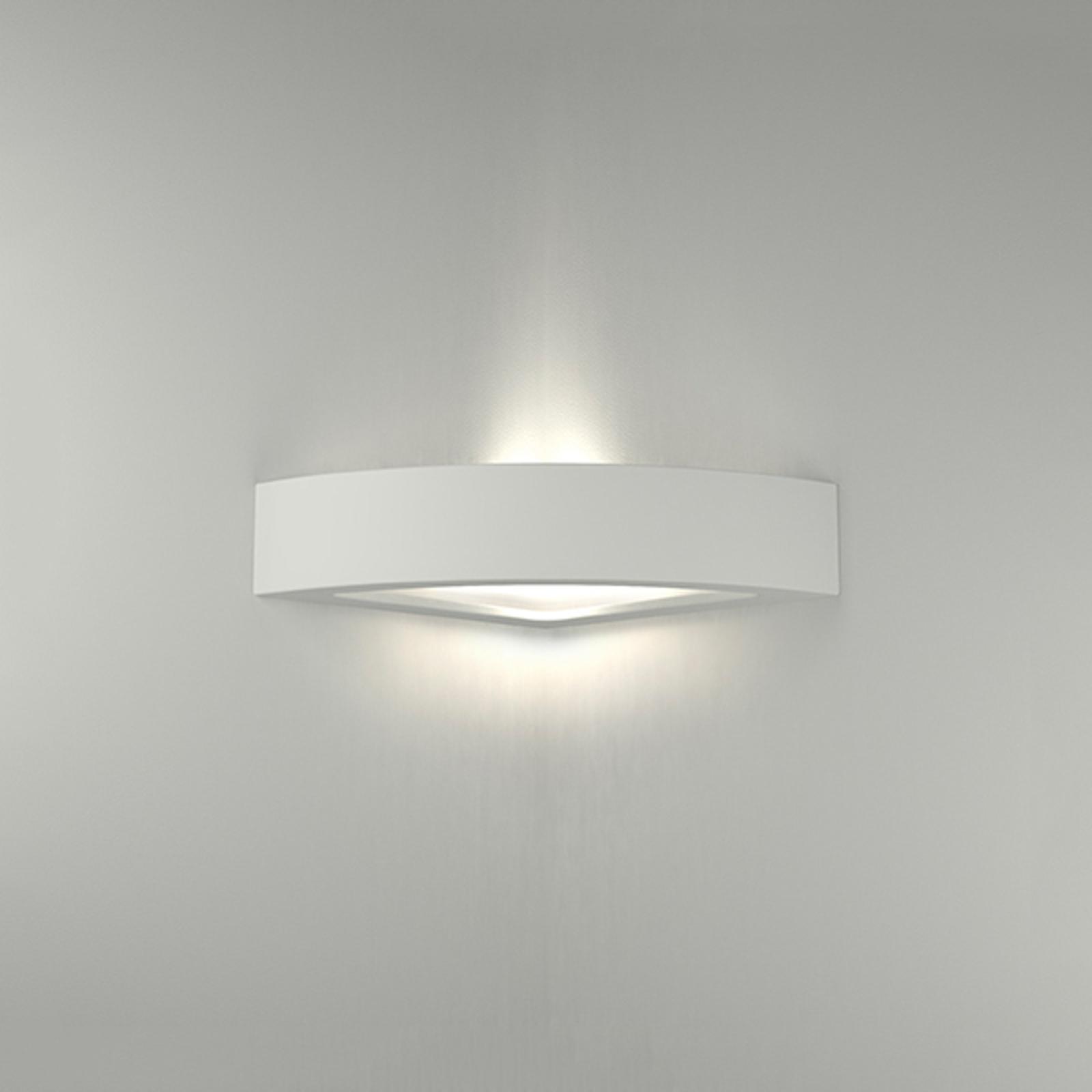LED-vegglampe 8056 kantet 3000K kan ikke dimmes