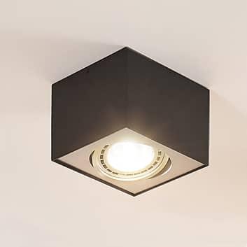 Arcchio Dwight spot sufitowy LED czarny 1-punktowy