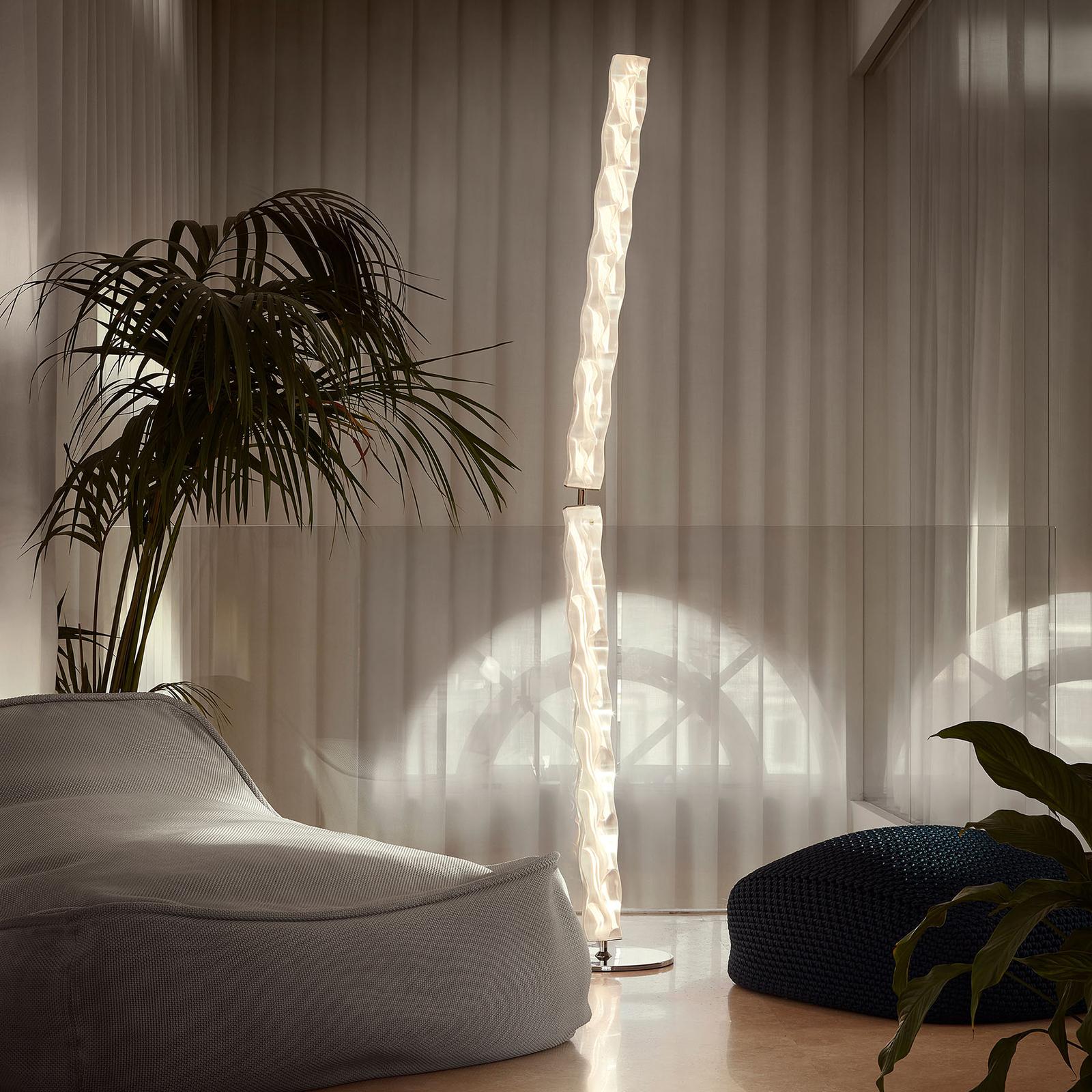 Slamp Hugo Floor LED-designergolvlampa prisma