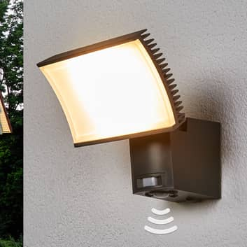 OSRAM Floodlight LED-utevegglampe sensor 40 W grå