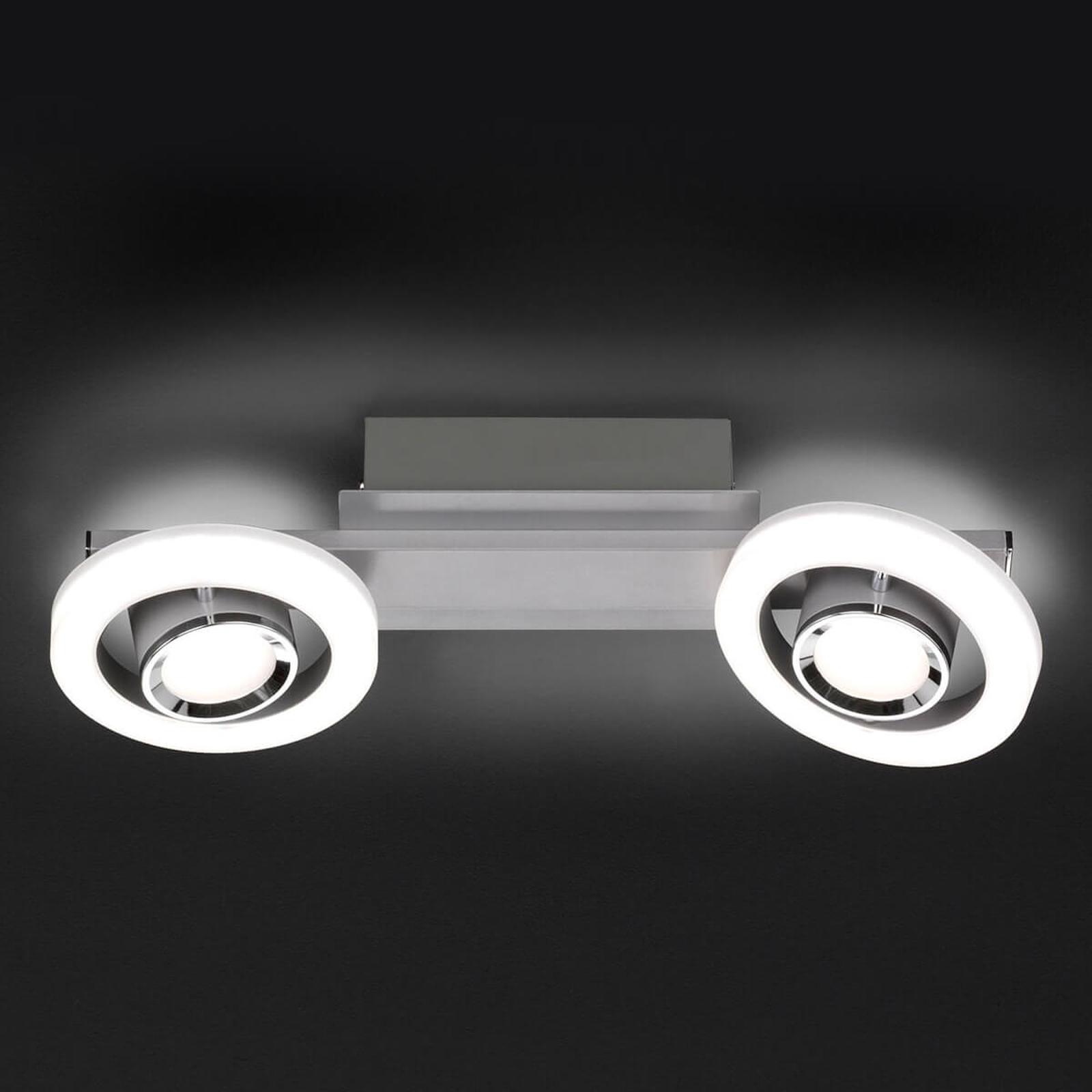 LED-taklampe Detroit med dimmer