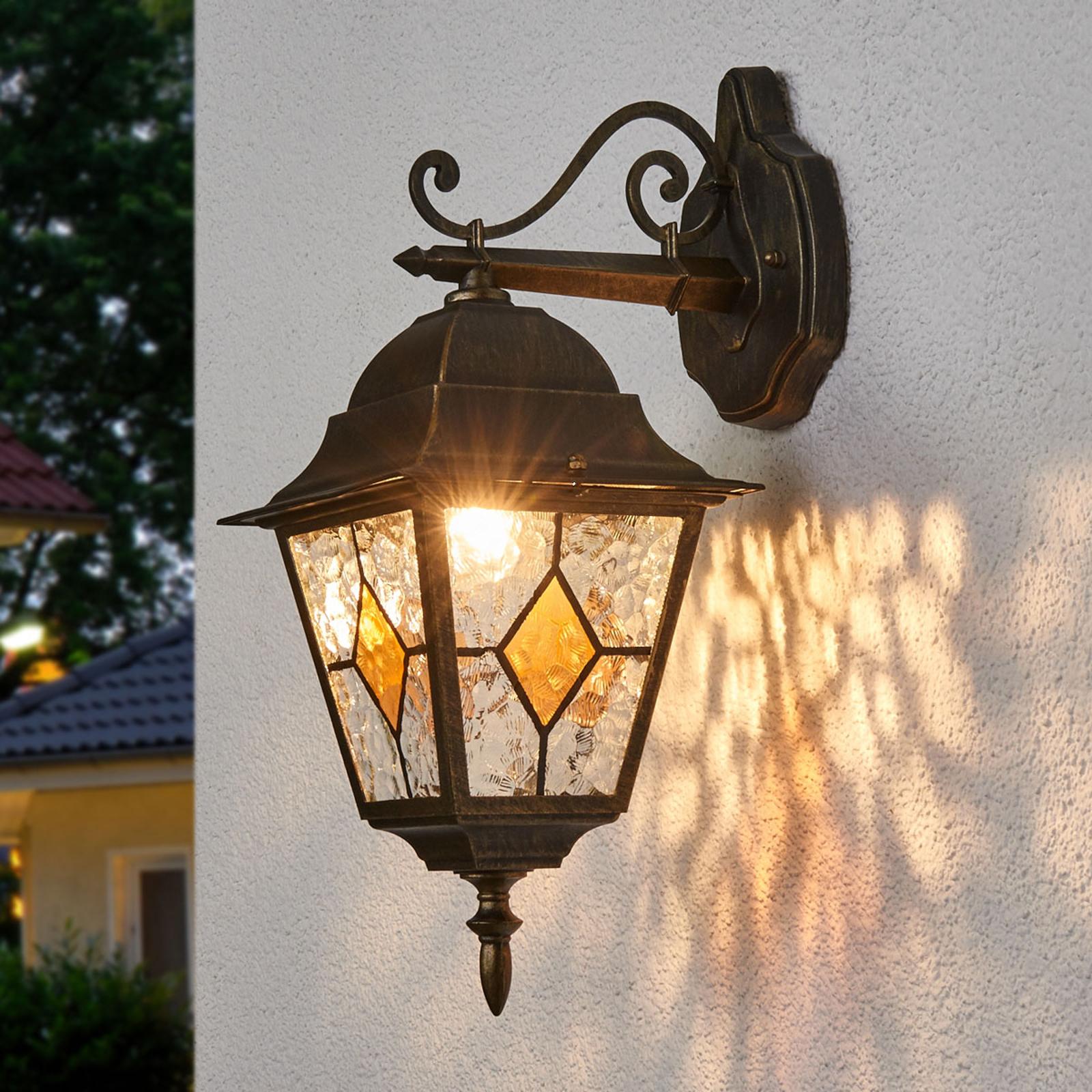Jason - tradycyjna wisząca lampa zewnętrzna