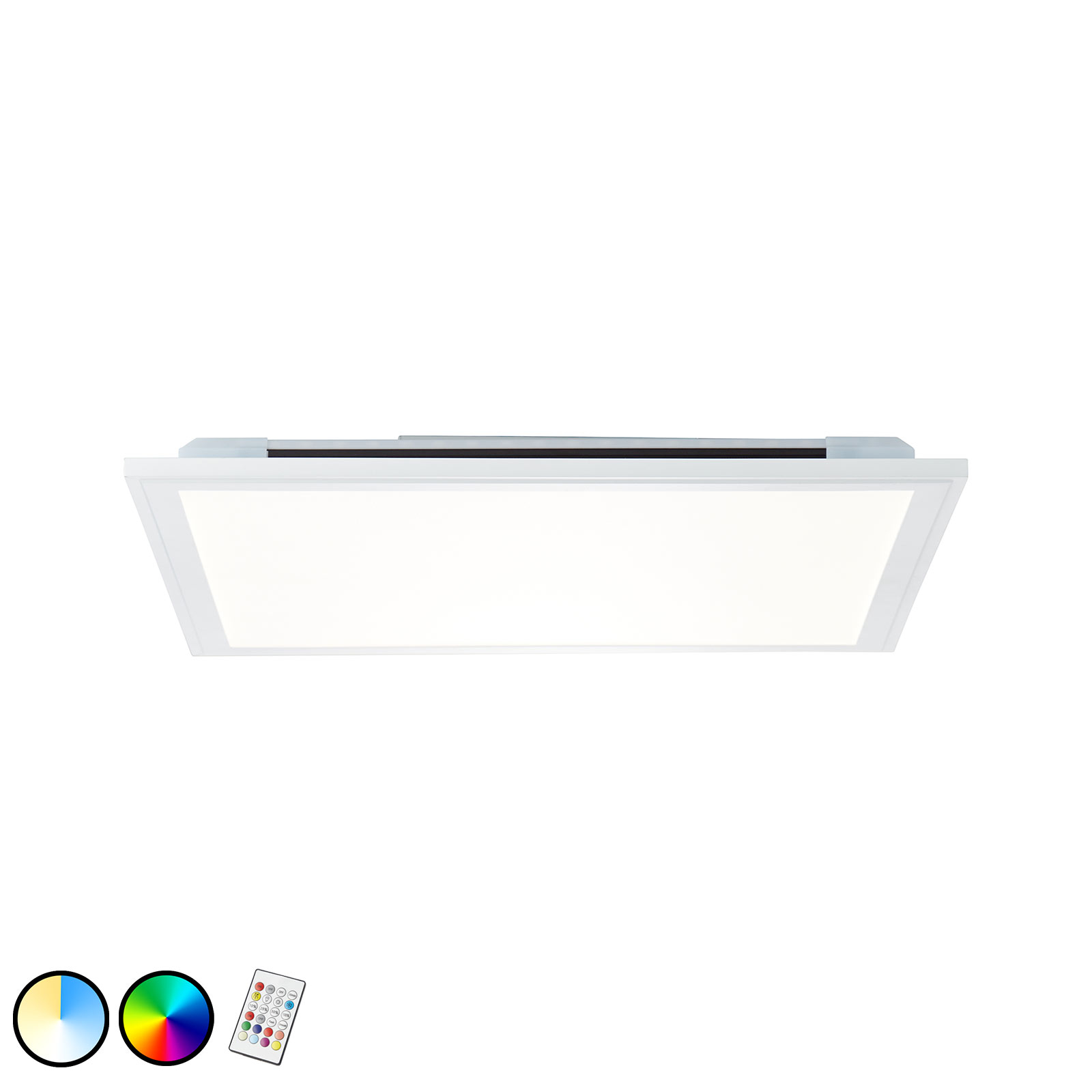 LED-taklampe Allie, 40x40 cm