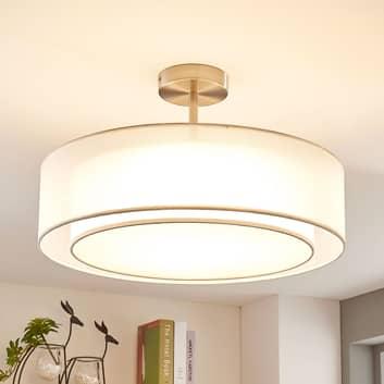 LED-Deckenlampe Pikka, 3-stufig dimmbar, weiß