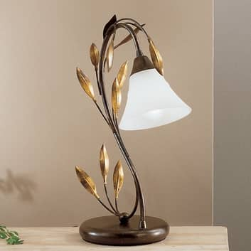 Svunget bordlampe CAMPANA