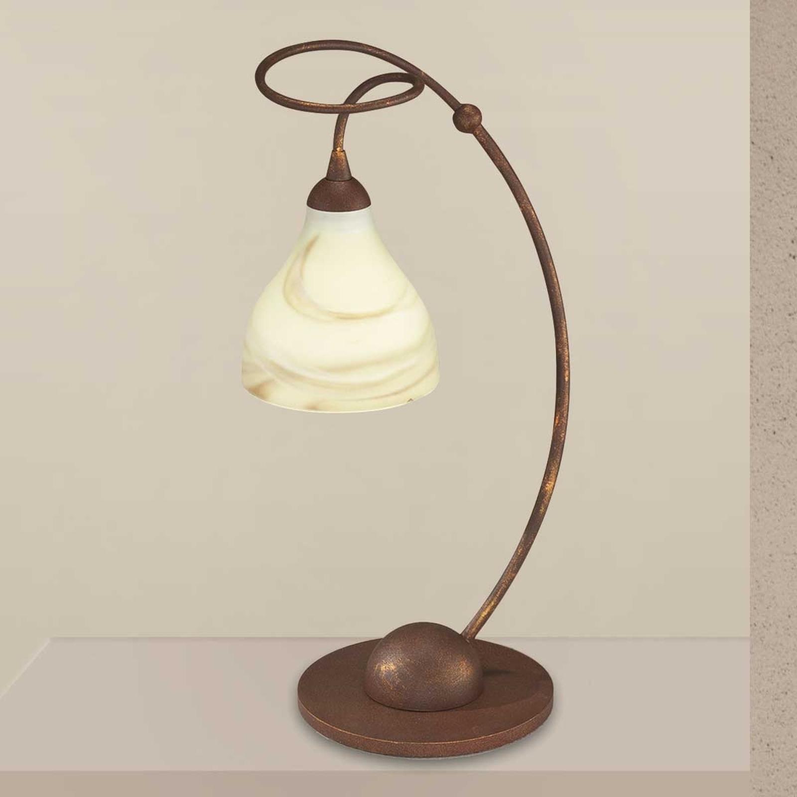 Rustik bordslampa Mattia
