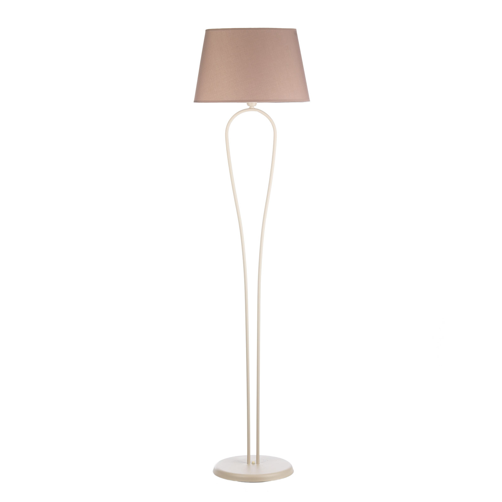 Zen bordlampe, beige skjerm, høyde 175 cm