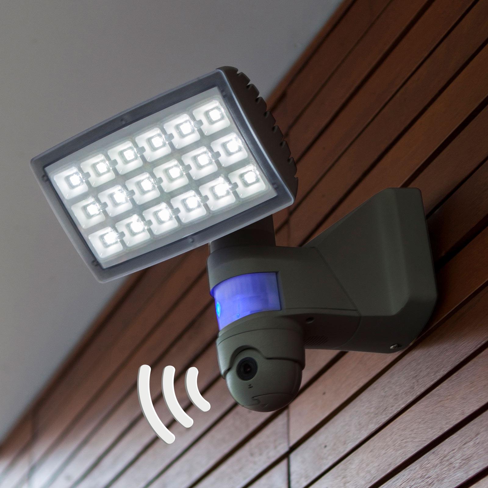 Peri Cam - Led buitenwandlamp met camera en sensor