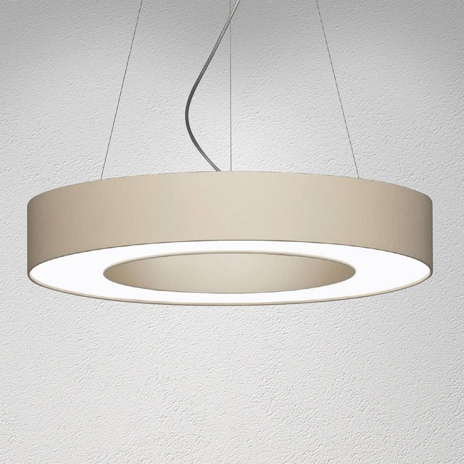 Suspension LED Donut dimmable 22W mélange