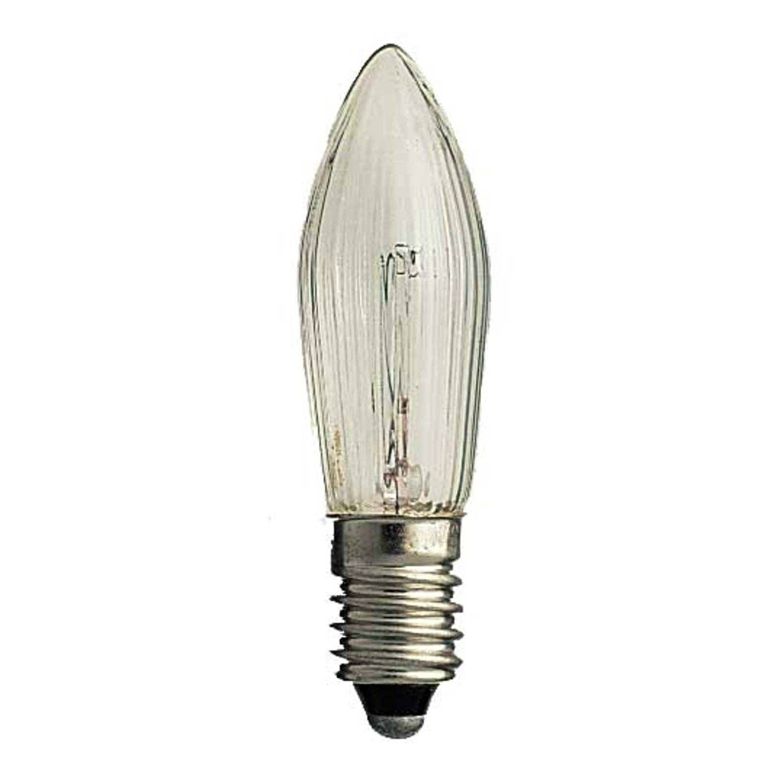 E10 3W 34V spare candle bulbs in a pack of 3_5524238_1