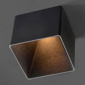 GF design Blocky lampada a incasso nero
