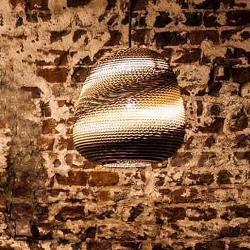 Think Paper Binky 210 hængelampe af papstrimler