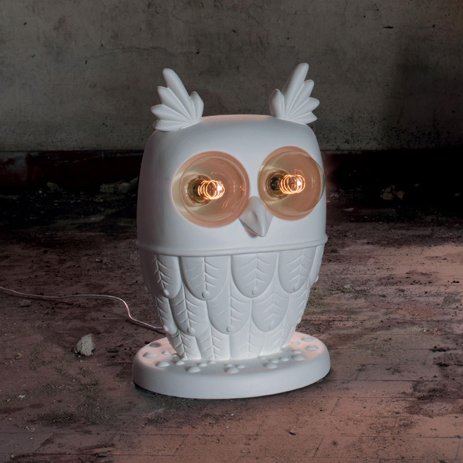 Karman tafellamp Ti Vedo in uilenvorm