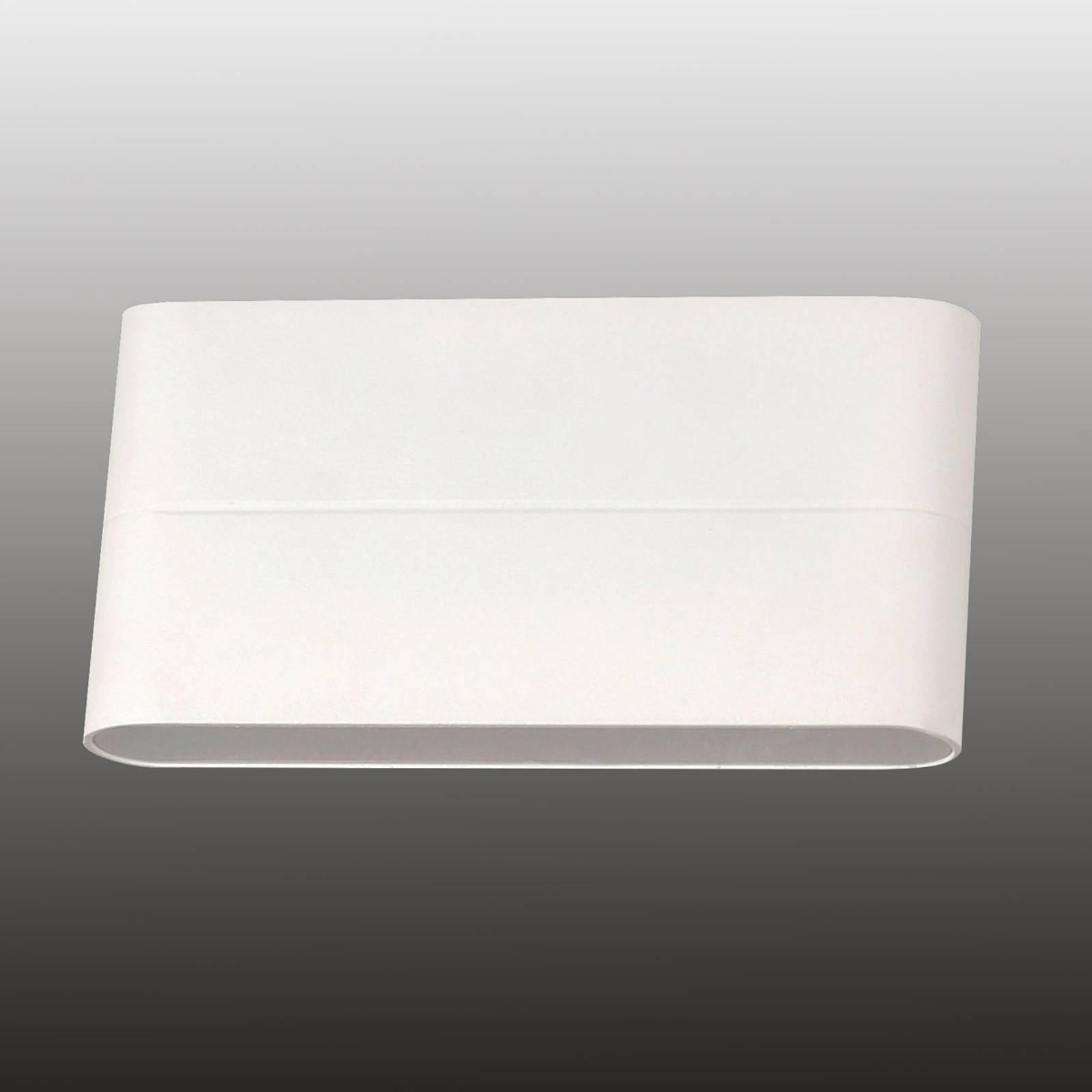 LED-Außenwandleuchte Casper, weiß