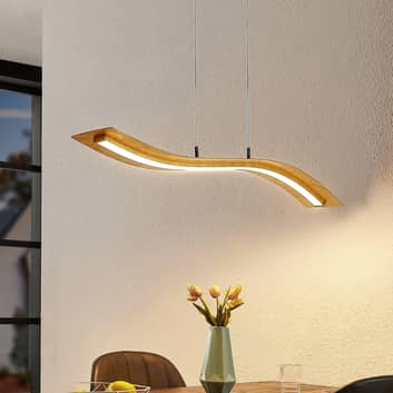 Lindby Larisa LED závěsné světlo, délka 90 cm