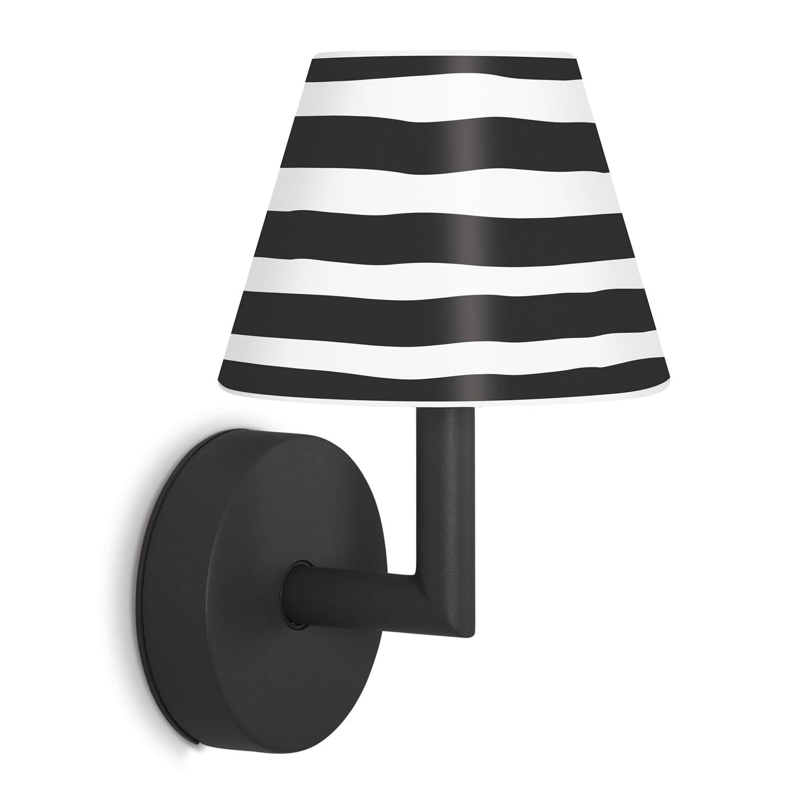 Fatboy LED-Wandleuchte Add the Wally anthrazit