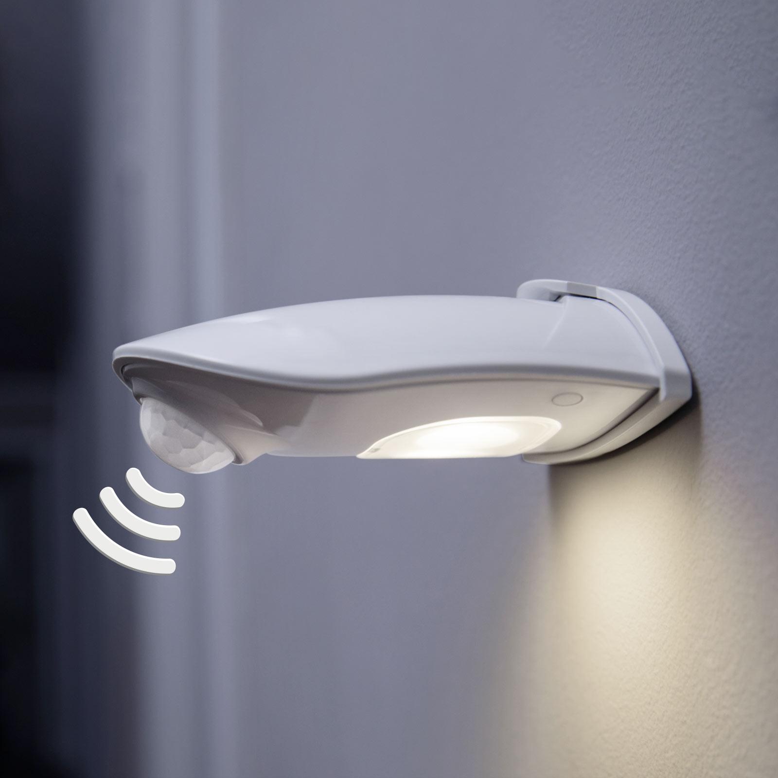 LEDVANCE Door Down utendørs LED-vegglampe, hvit