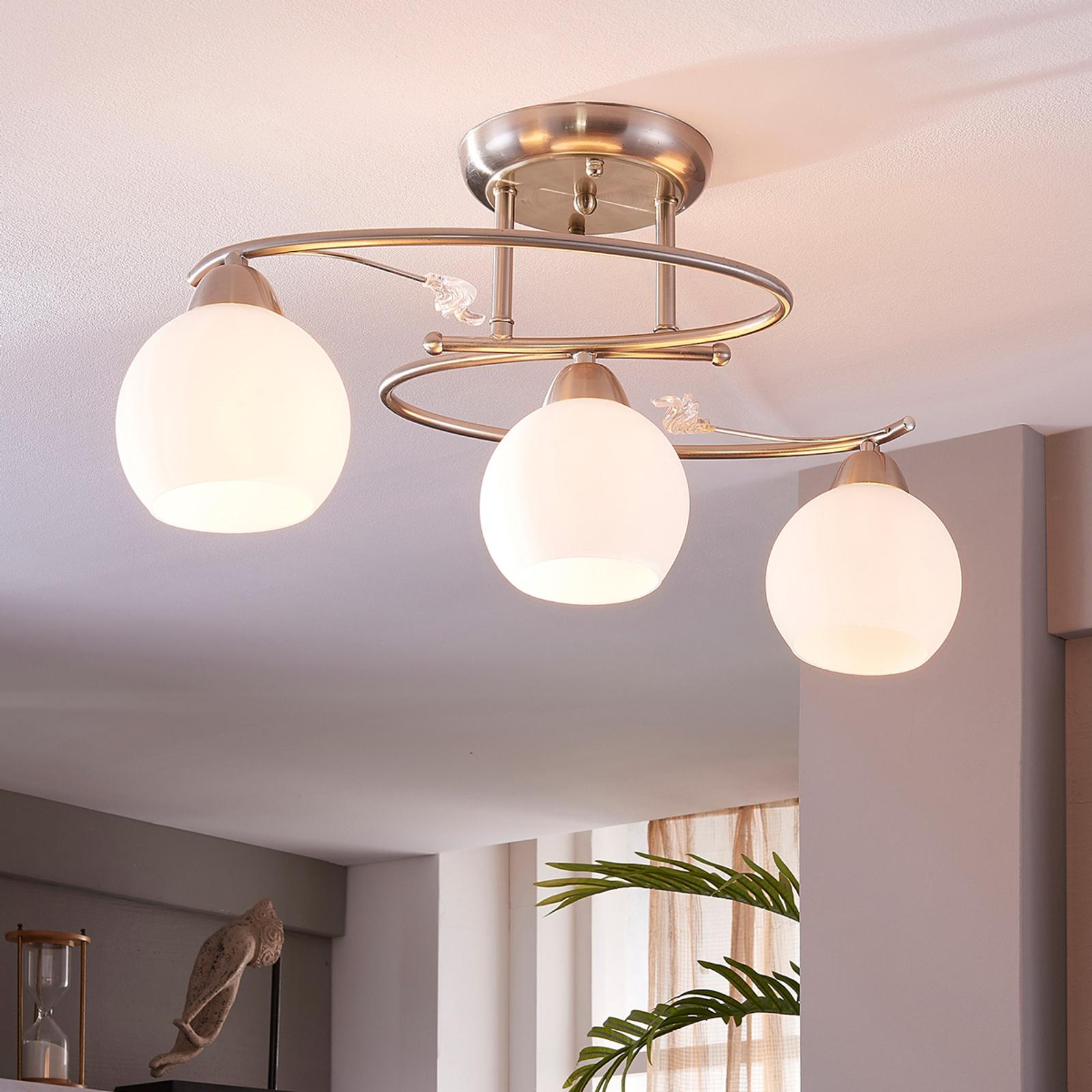 Lámpara de techoSvean con tres cabezales