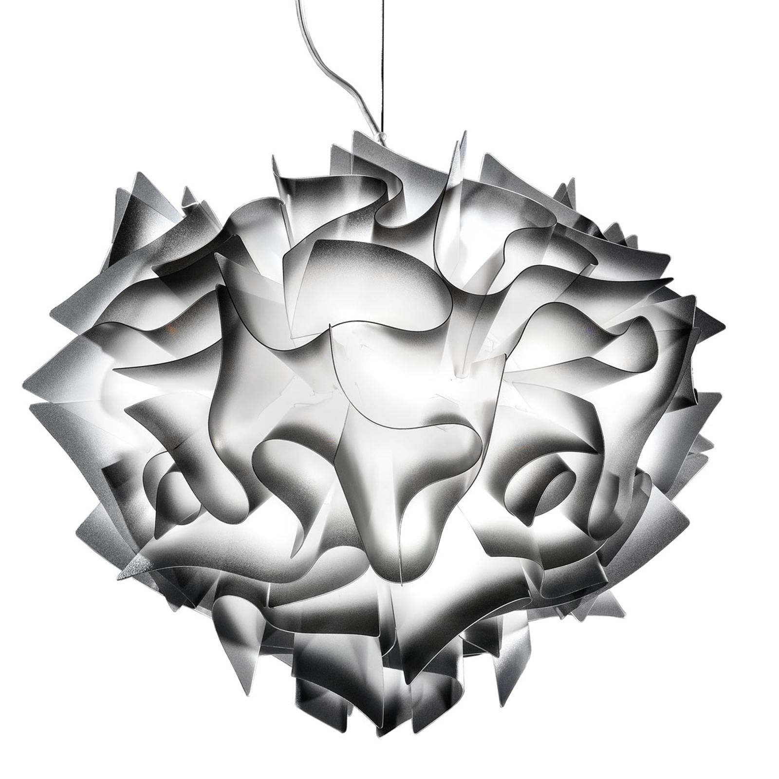 Slamp Veli – design-hengelampe, Ø 60 cm, antrasitt