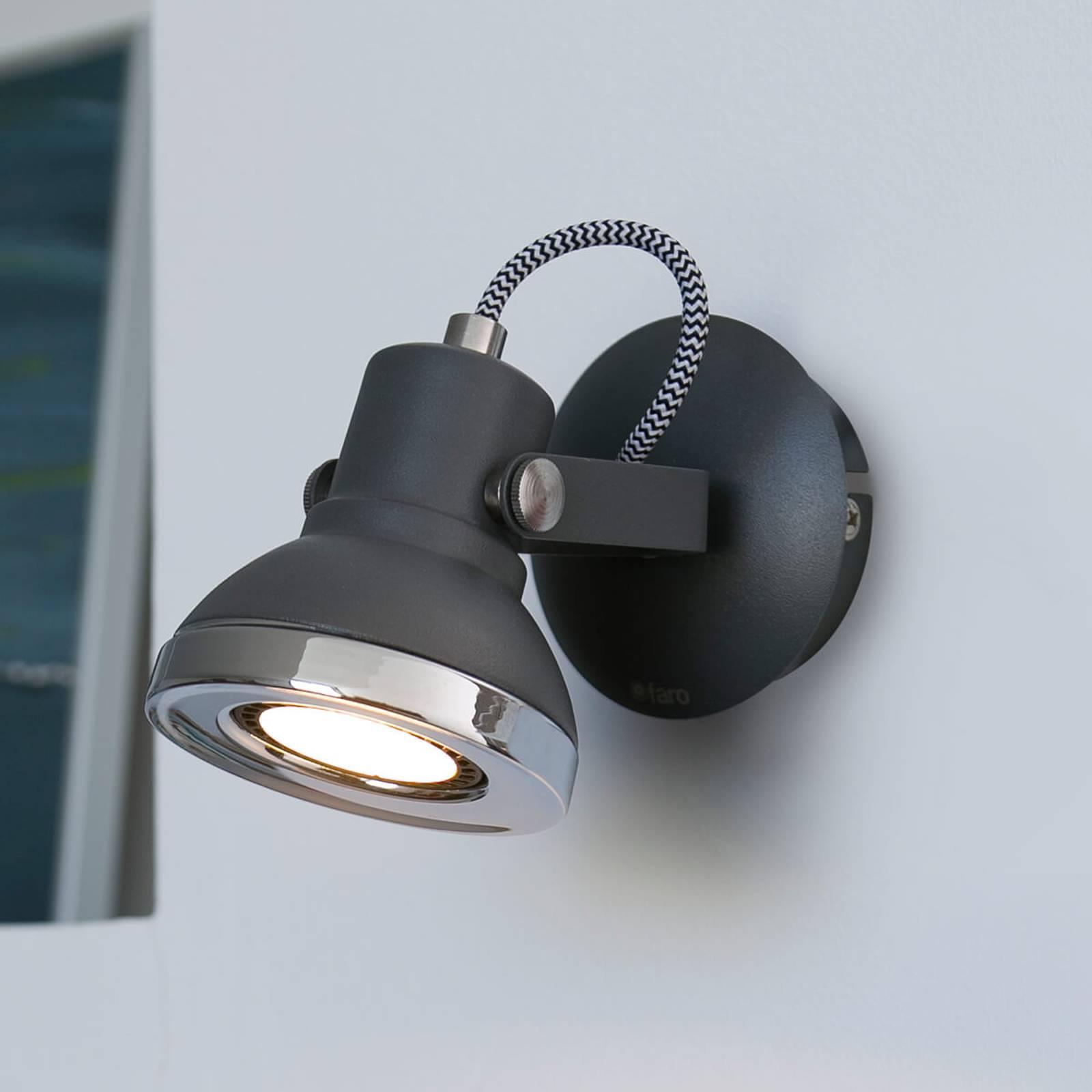 Ring – 1-punktowy reflektor ścienny LED