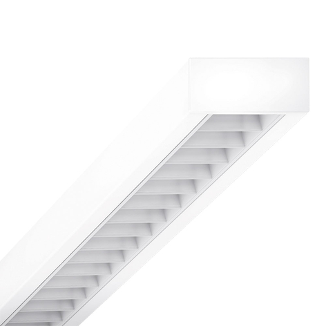 Plafón LED cubus RSAXC-1500 4.000K rejilla