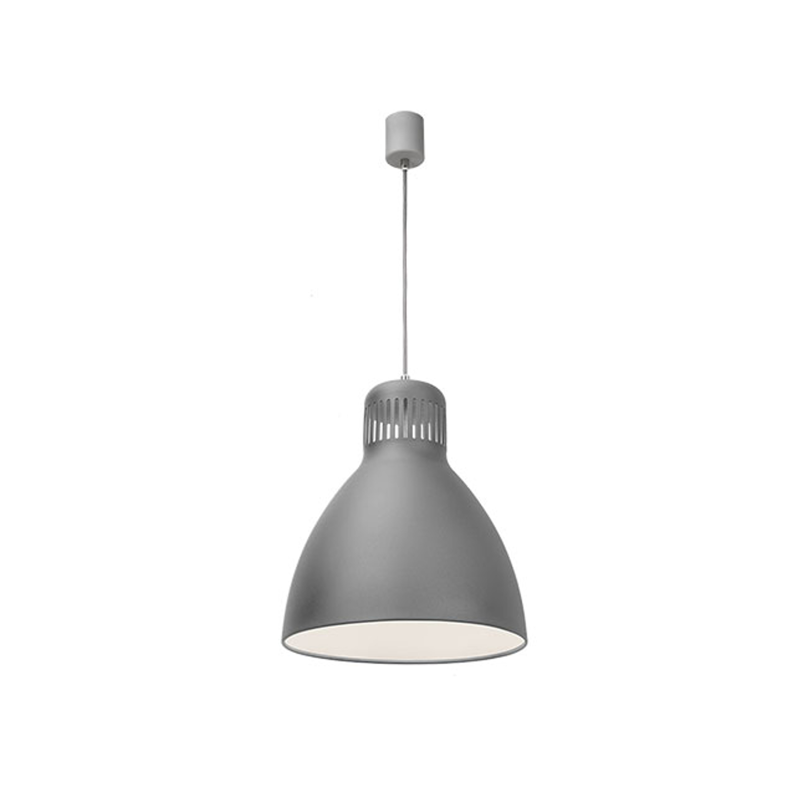 LED-Hängelampe L-1, DALI-dimmbar, 4.000 K, grau
