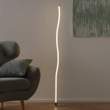 LED-golvlampa 1367-012 i vågform, dimmer