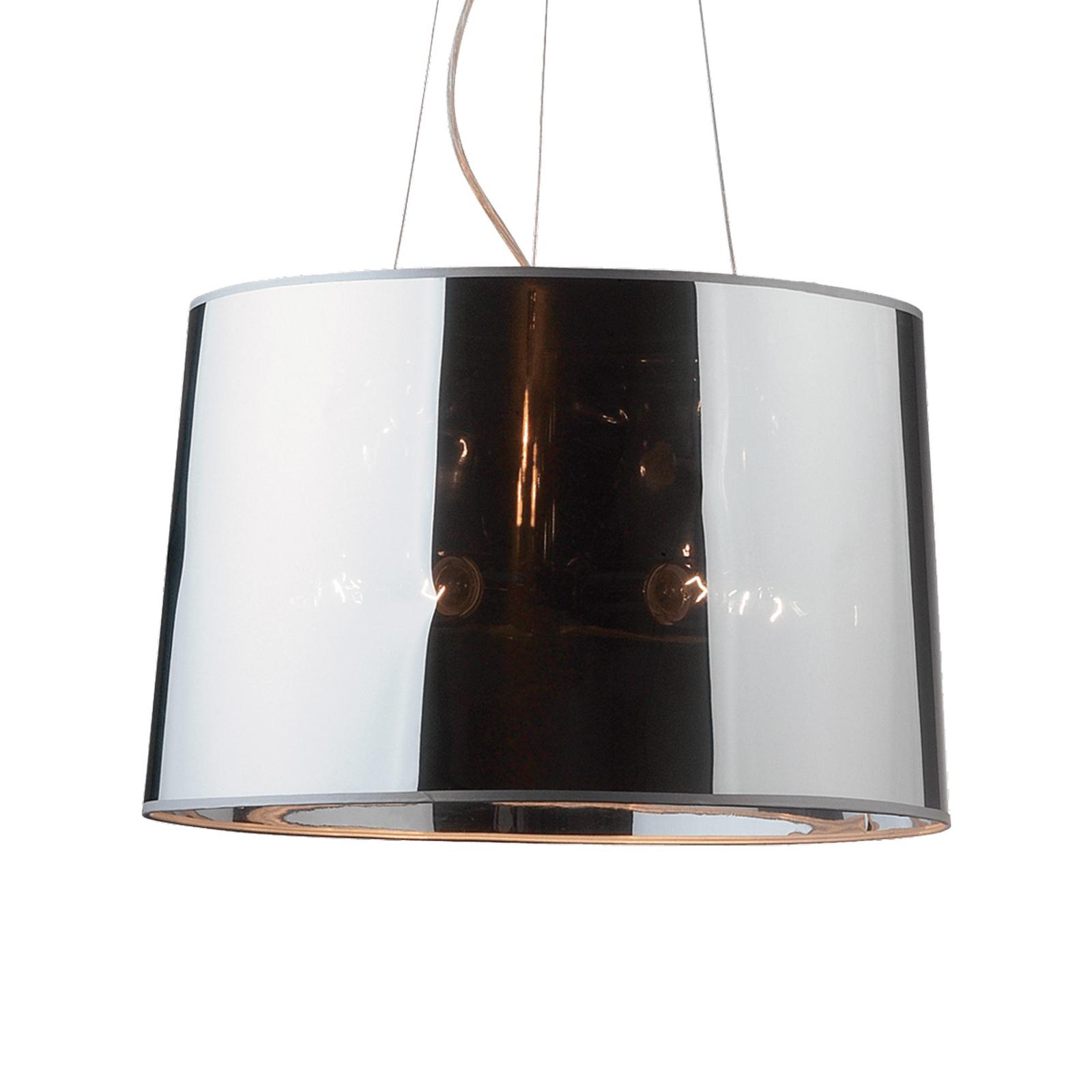 Hanglamp London Cromo, in hoogte verstelbaar