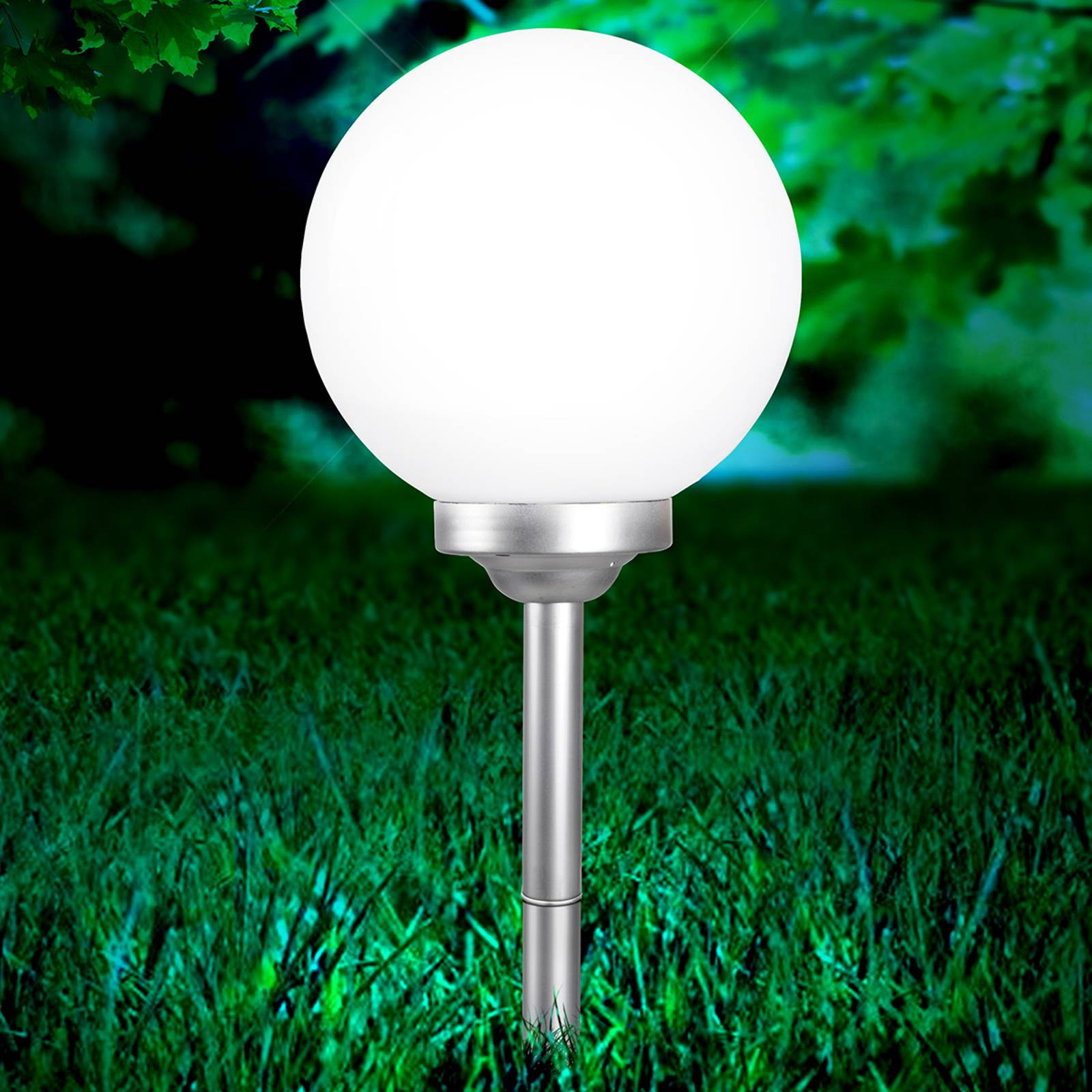 Okrągła lampa solarna Celyn 30 cm