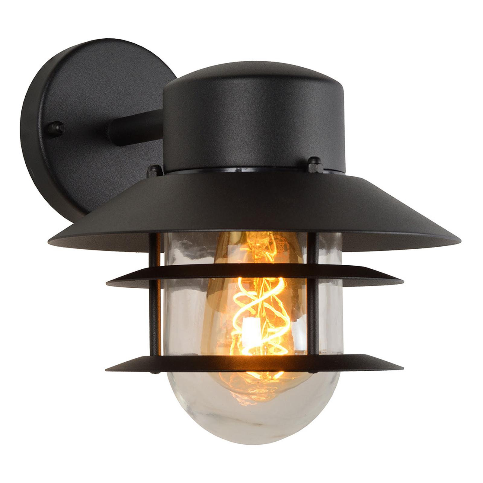 Buitenwandlamp Zico, zwart