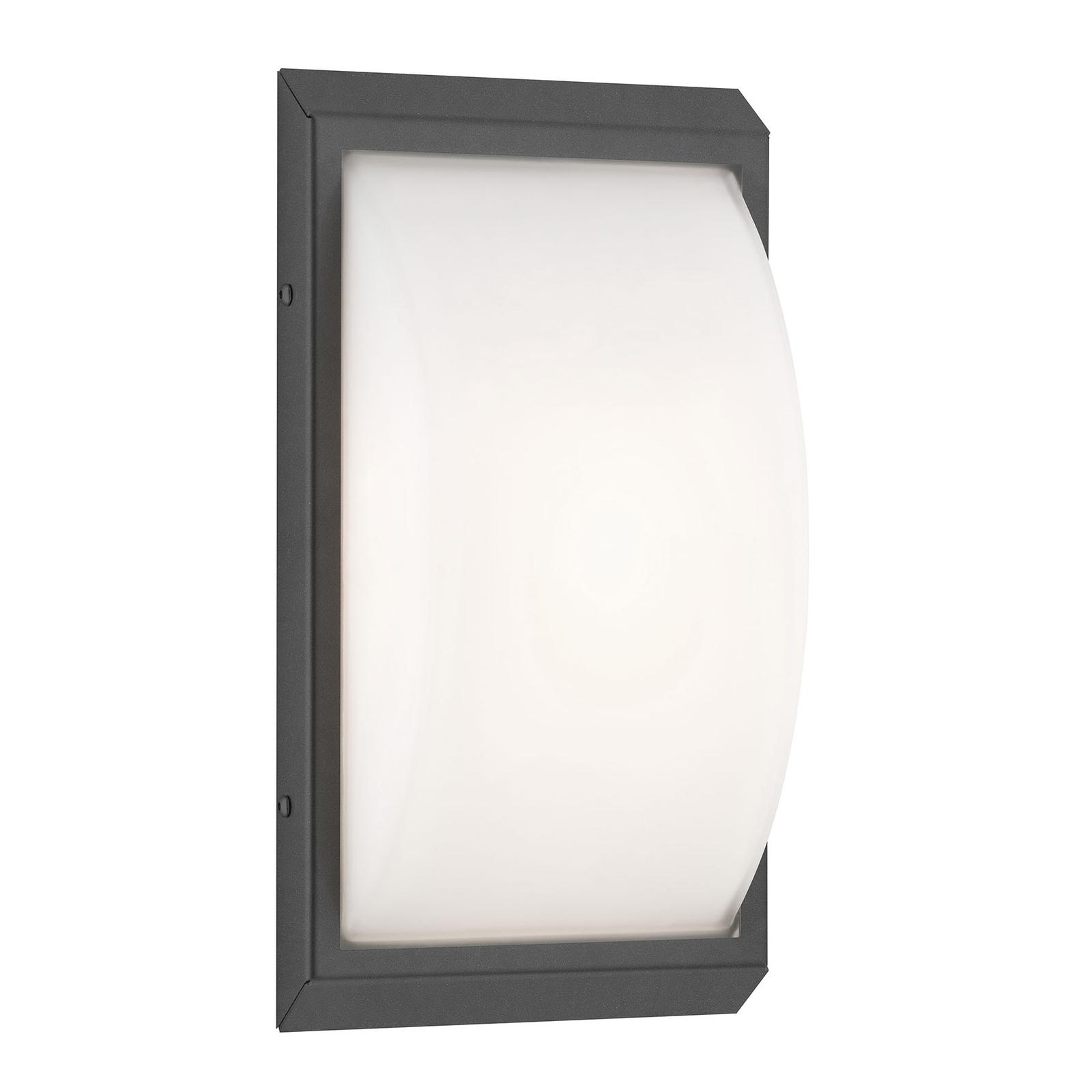 LED buitenwandlamp 053, bewegingsmelder, grafiet