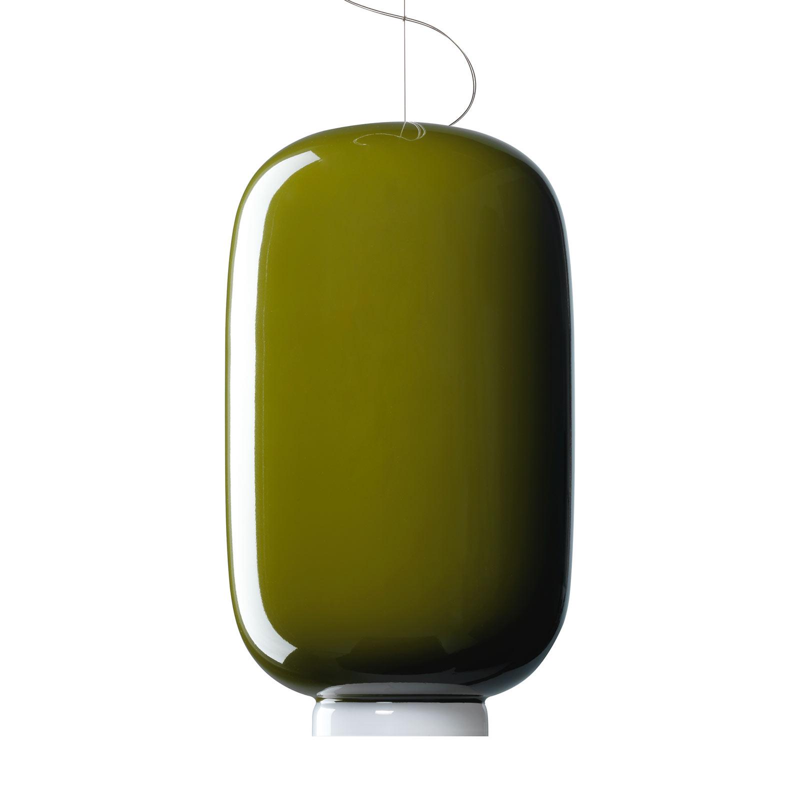 Foscarini MyLight Chouchin 2 LED-Hängelampe grün