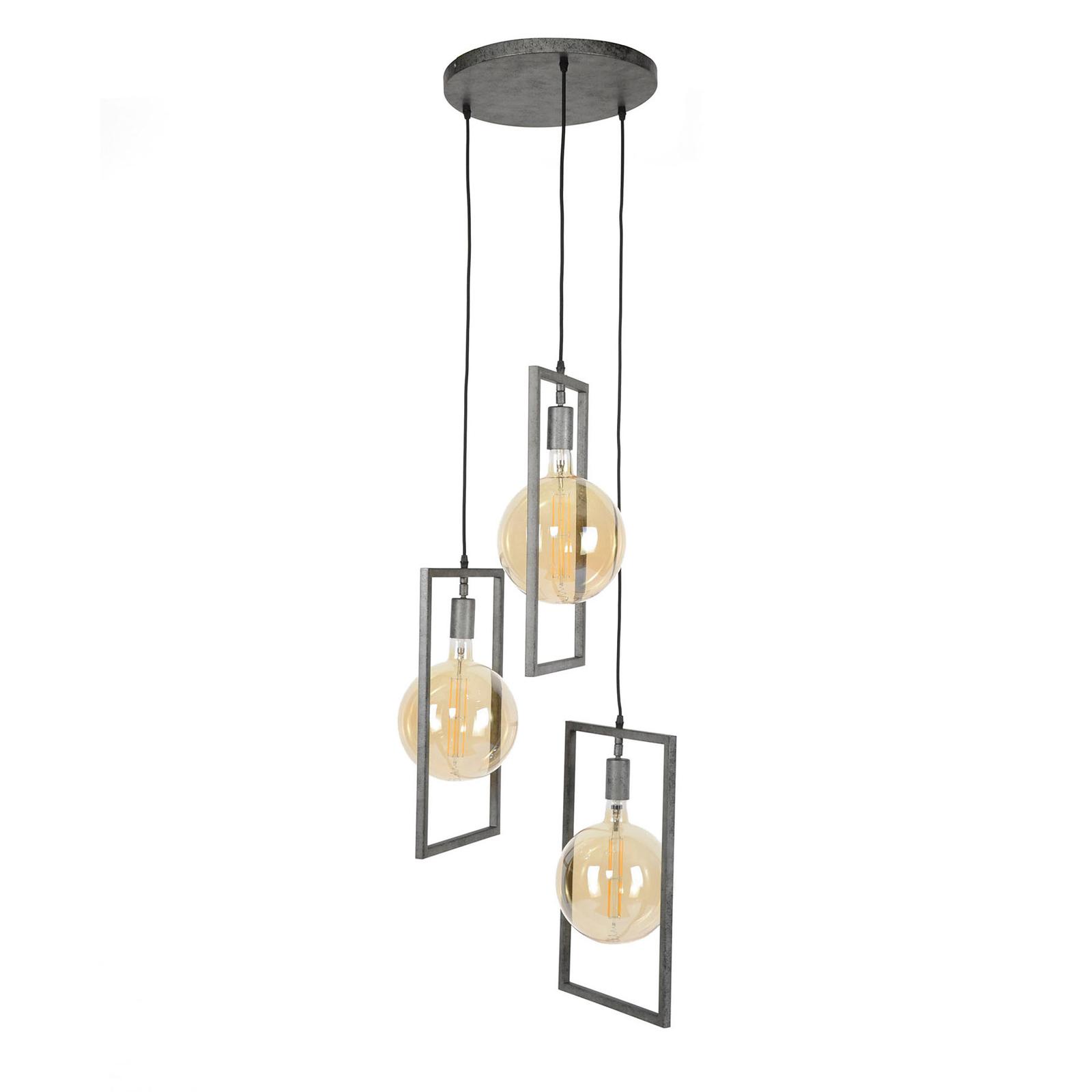 Skyframe hængelampe, 3 lyskilder